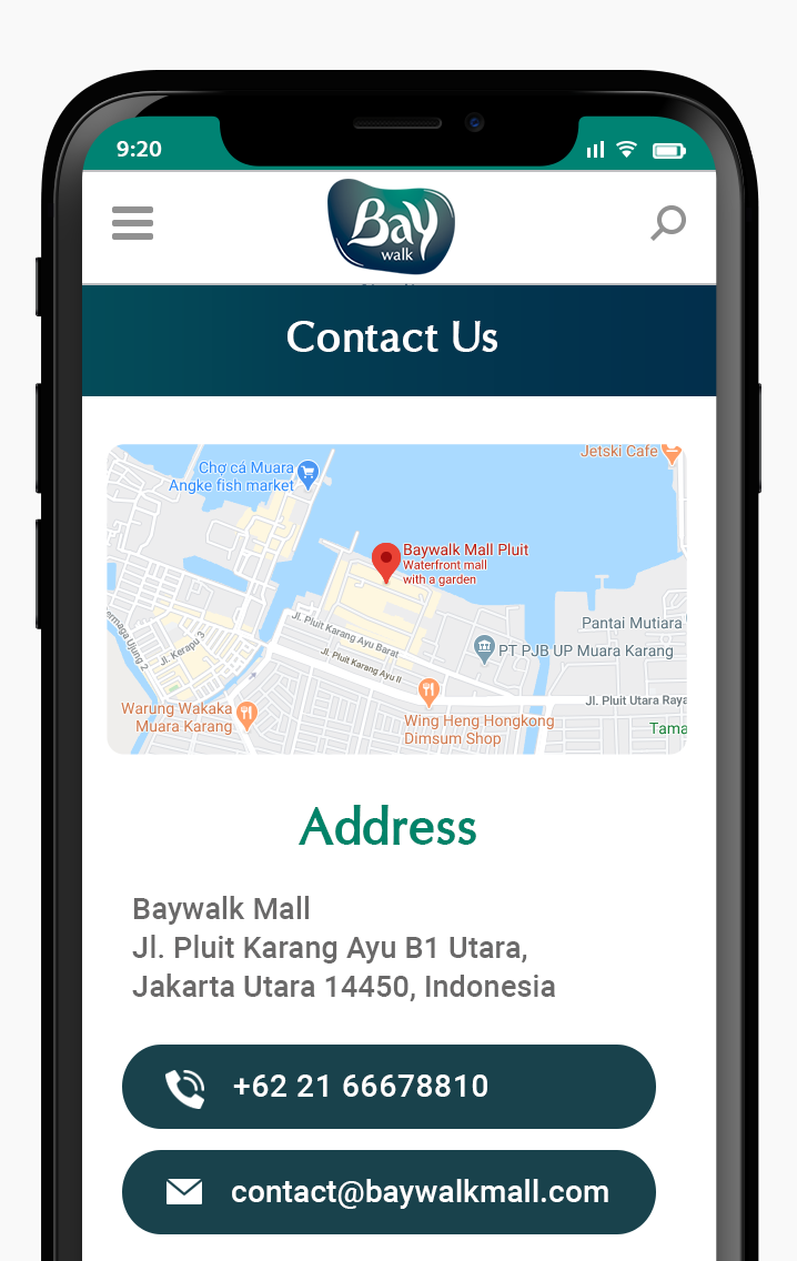 Komunigrafik ui-ux web design and development Indonesia - Project Showcase and Portfolio Responsive Mobile