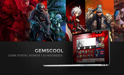 Komunigrafik portfolio Design project showcase and case study for gemscool - Profesional Web Designer and web developer Indonesia