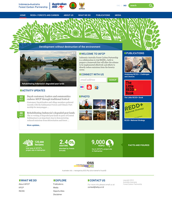 final design iafcp website