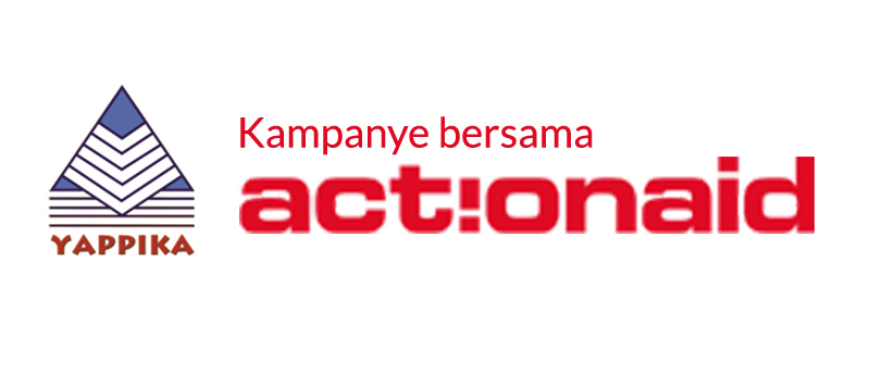 Komunigrafik web design and web developer profesional in Jakarta Selatan, Indonesia - Client Project Portfolio for Yappika ActionAid